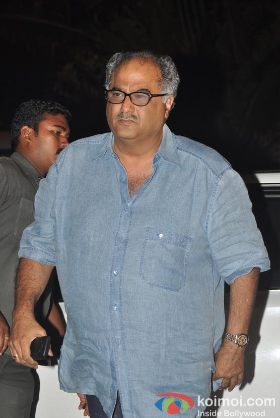 Boney Kapoor At Salman Khan's Eid Party