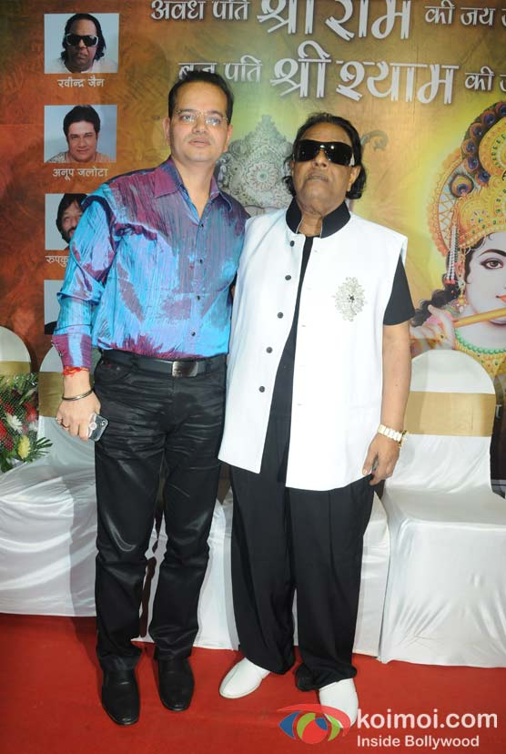 Champak Jain, Ravindra Jain At Unveils Album On The Occasion of Gokulashtami