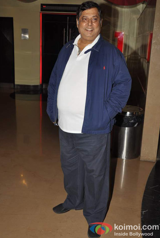 David Dhawan At Student Of The Year Movie Trailer Launch