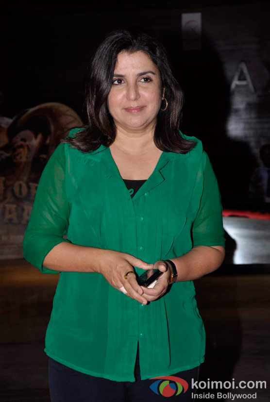 Farah Khan At Shirin Farhad Ki Toh Nikal Padi Movie Special Screening At Cinemax