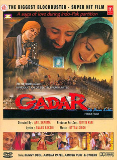 Gadar Ek Prem Katha 2001 Movie Poster