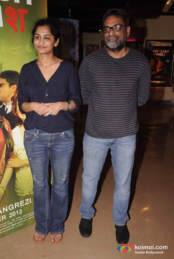Gauri Shinde, R. Balki At English Vinglish Movie Trailer Launch