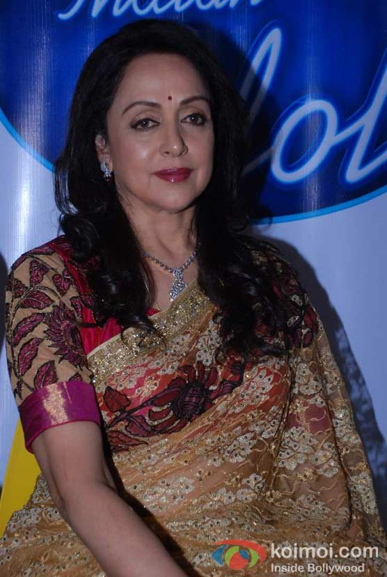Hema Malini On The Sets Of Indian Idol Season 6
