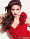 Hot And Sizzling Alia Bhatt In A Red Dress