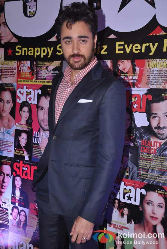 Imran Khan On India's Most Stylish Starweek Magazine Cover