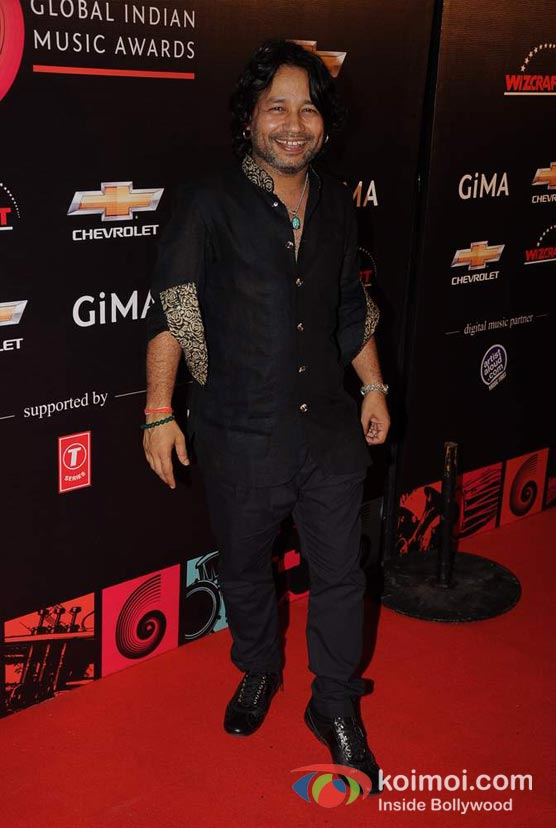 Kailash Kher At Global Indian Music (GIMA) Awards 2012 Red Carpet