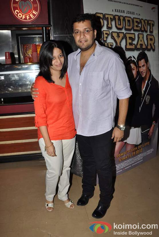 Karan Malhotra  At Student Of The Year Movie Trailer Launch