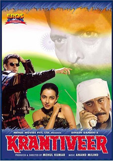 Krantiveer 1994 Movie Poster
