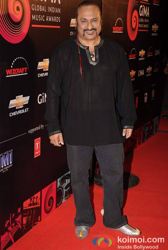 Leslie Lewis At Global Indian Music (GIMA) Awards 2012 Red Carpet
