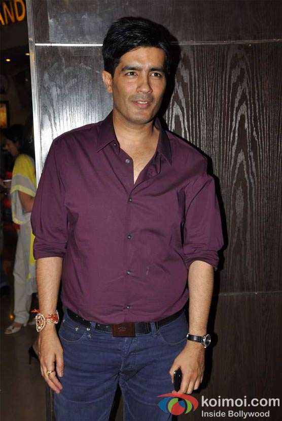 Manish Malhotra At Student Of The Year Movie Trailer Launch