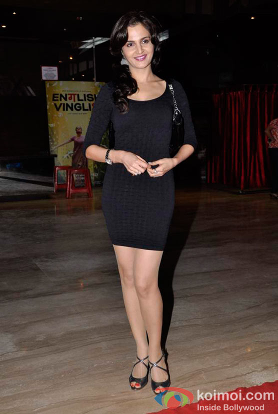 Monica Bedi At Shirin Farhad Ki Toh Nikal Padi Movie Special Screening At Cinemax