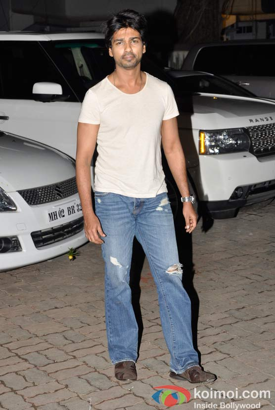 Nikhil Dwivedi At Salman Khan's Eid Party