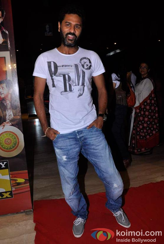 Prabhu Deva At Shirin Farhad Ki Toh Nikal Padi Movie Special Screening At Cinemax