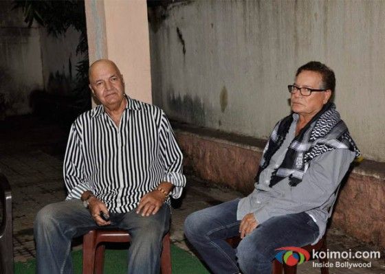 Prem Chopra, Salim Khan At Shirin Farhad Ki Toh Nikal Padi Movie Special Screening At Cinemax
