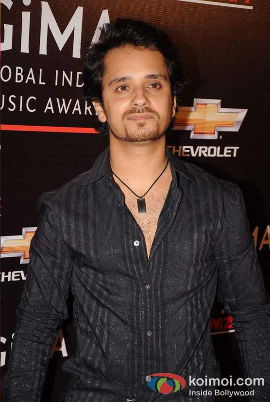 Raghav Sachar At Global Indian Music (GIMA) Awards 2012 Red Carpet