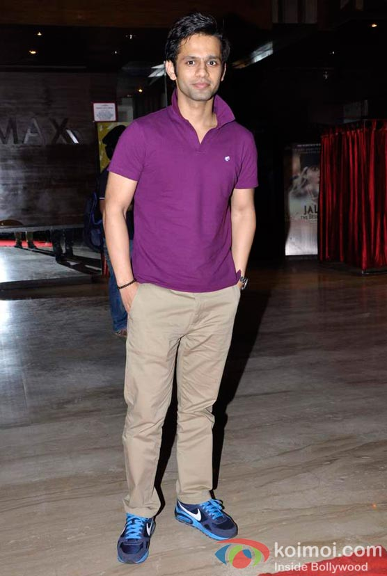 Rahul Vaidya At Shirin Farhad Ki Toh Nikal Padi Movie Special Screening At Cinemax