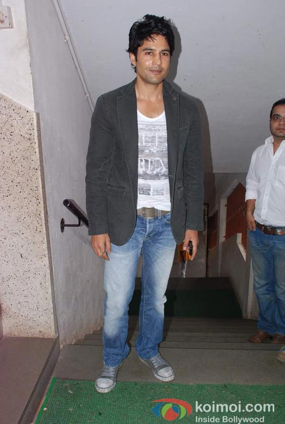 Rajeev Khandelwal At Bharat & Doriss Bridal Fashion Show 2012