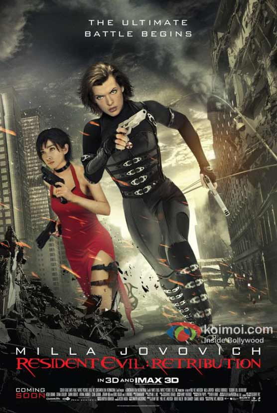 Resident Evil: Retribution 3D Movie Poster