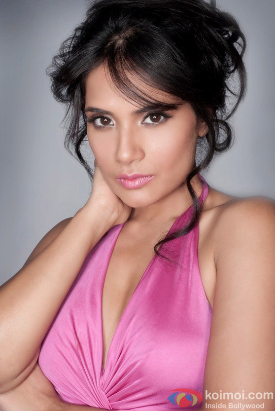 Richa Chadda really sexy in pink