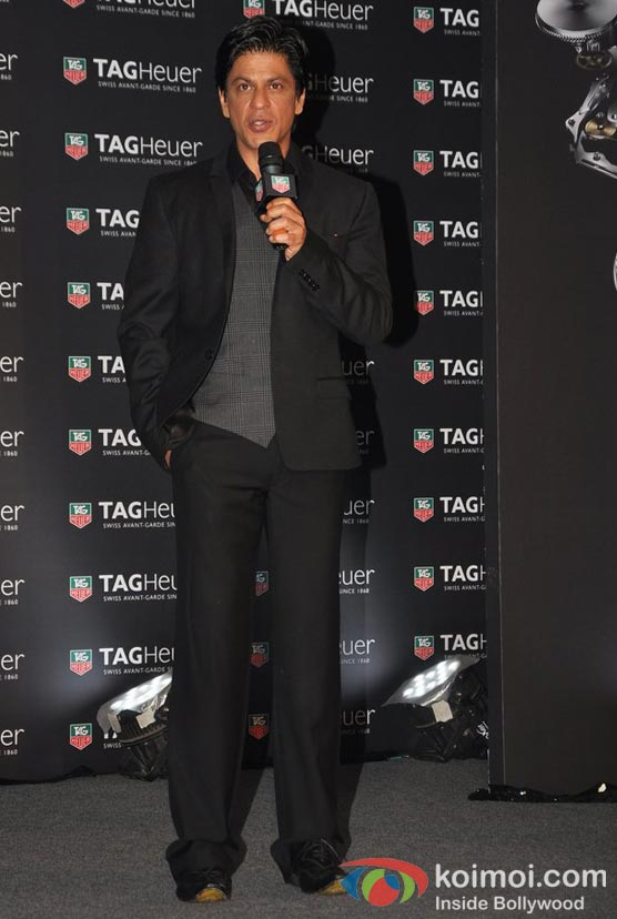 Shah Rukh Khan Unveils TagHeuer CARRERA Watch