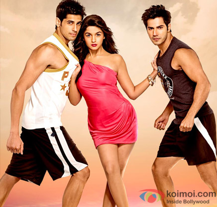 Sidharth Malhotra, Alia Bhatt and Varun Dhawan look cute in Student Of The Year Movie Stills