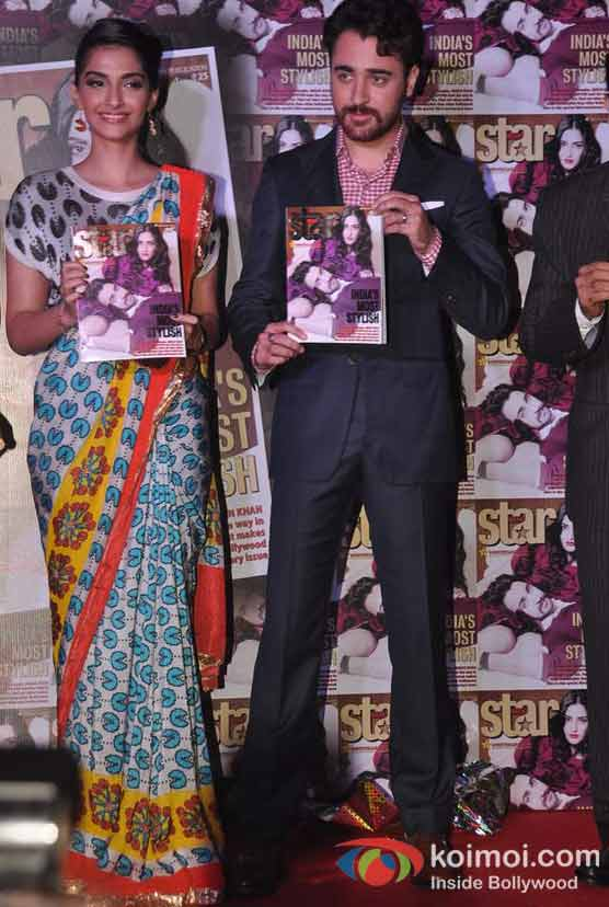 Sonam Kapoor And Imran Khan On India's Most Stylish Starweek Magazine Cover