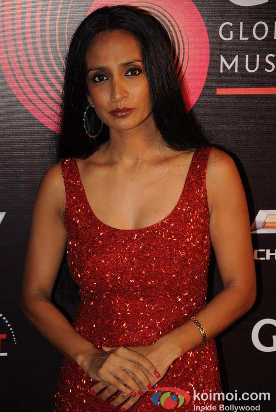 Suchitra Pillai At Global Indian Music (GIMA) Awards 2012 Red Carpet