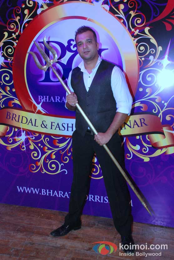 Suraj Godambe At Bharat & Doriss Bridal Fashion Show 2012