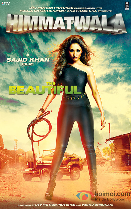 Tamannaah in Himmatwala Movie Poster