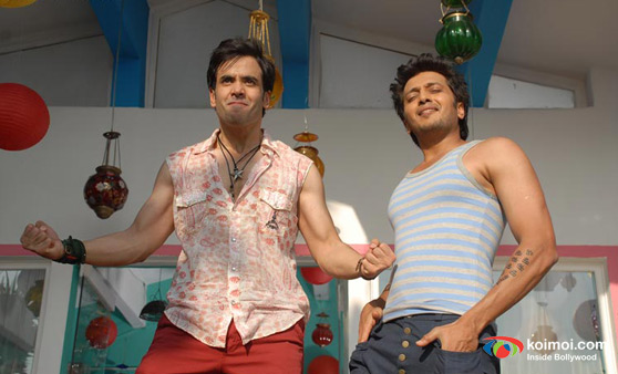 Tusshar Kapoor, Ritesh Deshmukh In Kyaa Super Kool Hain Hum Movie Stills