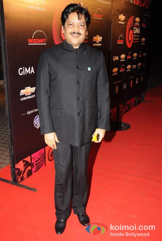 Udit Narayan At Global Indian Music (GIMA) Awards 2012 Red Carpet