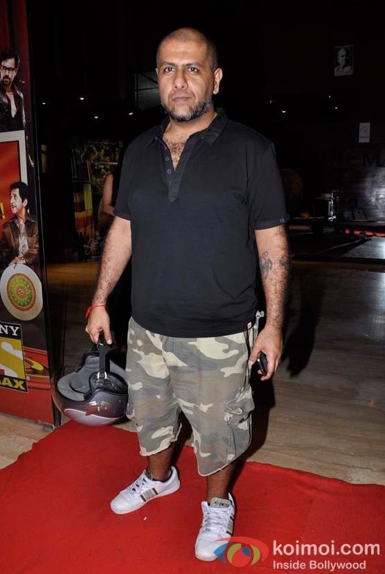 Vishal Dadlani At Shirin Farhad Ki Toh Nikal Padi Movie Special Screening At Cinemax