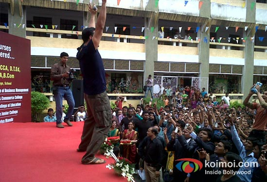 Akshay Kumar Promote OMG Oh My God! Movie in Nagpur