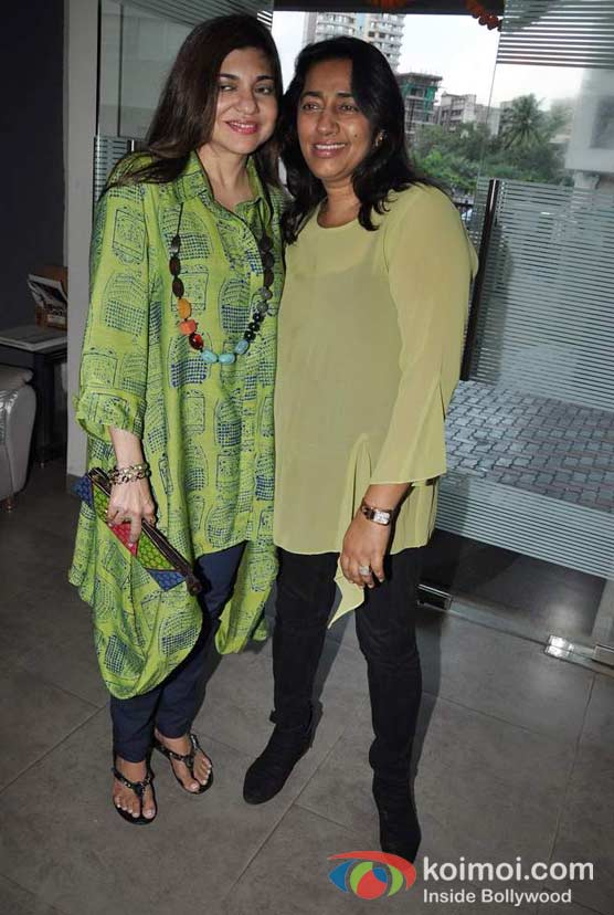 Alka Yagnik and Anu Ranjan at ITA Academy Event