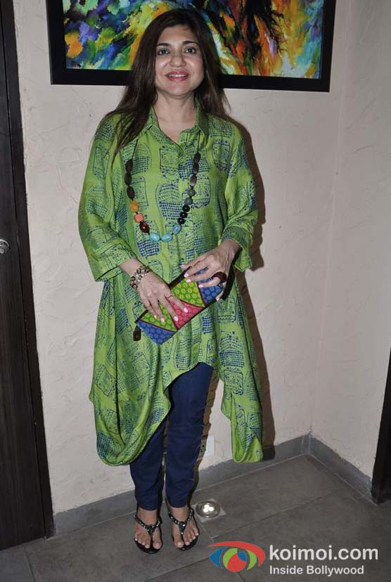 Alka Yagnik at ITA Academy Event