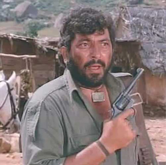 Amjad Khan In Sholay Movie