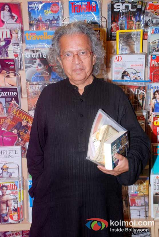 Anil Dharker At Ashwin Sanghi's The Krishna Key Book Launch