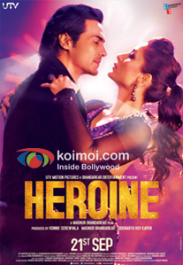 Heroine Review (Heroine Movie Poster)
