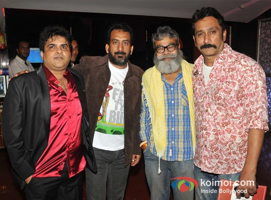 Chandrakant Singh, Hemant Pandey, Mukesh Tiwari At Launch Of C K Arts First Produced Short Film Scapegoat