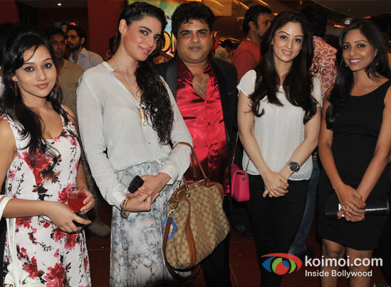Chandrakant Singh, Shweta Bharadwaj, Sandeepa Dhar At Launch Of C K Arts First Produced Short Film Scapegoat