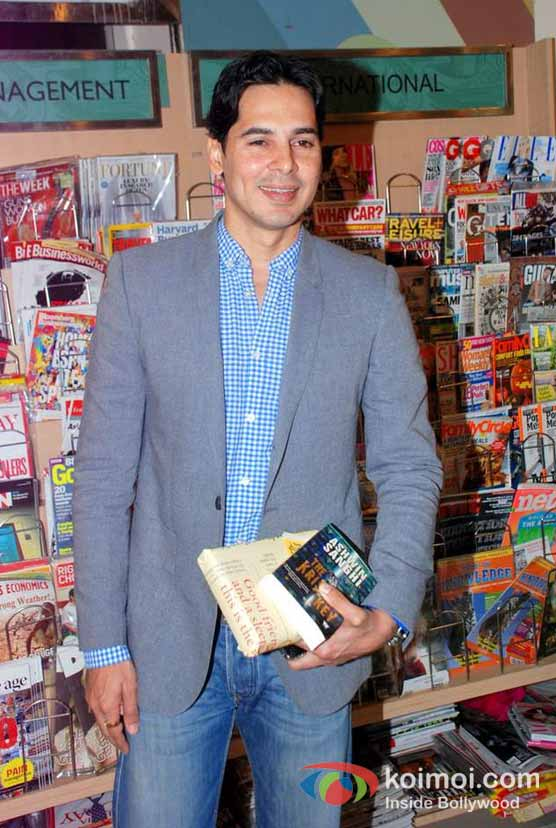 Dino Morea At Ashwin Sanghi's The Krishna Key Book Launch