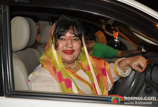 Dolly Bindra At Govinda's Ganpati Visarjan