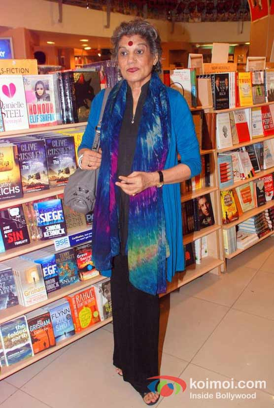 Dolly Thakore At Ashwin Sanghi's The Krishna Key Book Launch