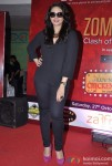 Huma Qureshi At Infiniti Mall For Luv Shuv Tey Chicken Khurana Movie Promotional Event