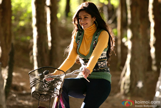 Ileana D'Cruz in a Still from Barfi! Movie