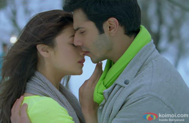 Alia Bhatt and Varun Dhawan in Ishq Wala Love Song in Student Of The Year Movie Stills