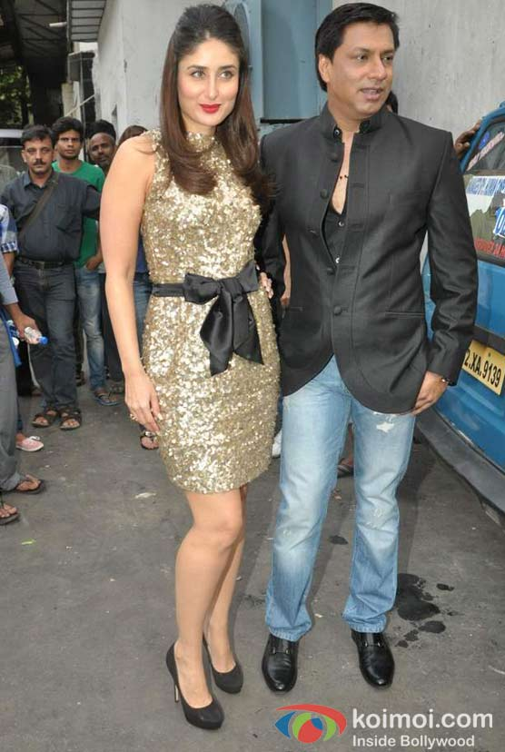 Kareena Kapoor and Madhur Bhandarkar Visits The Sets Of Zee Dance Ke Superstar At Famous Studios