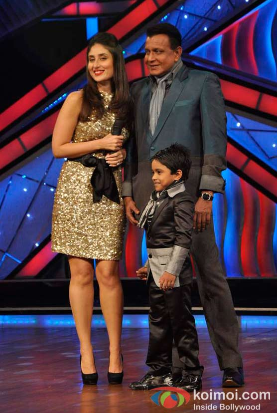 Kareena Kapoor, Mithun Chakraborty, Jeet Das Visits The Sets Of Zee Dance Ke Superstar At Famous Studios