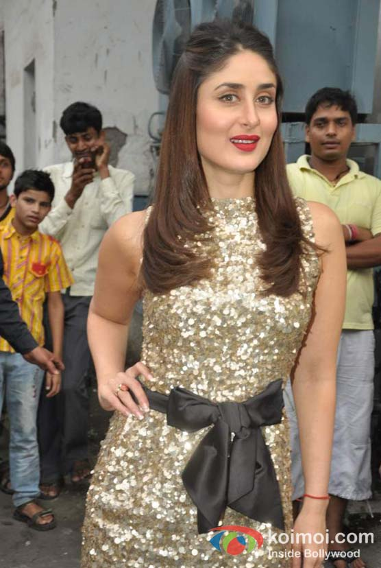 Kareena Kapoor Visits The Sets Of Zee Dance Ke Superstar At Famous Studios