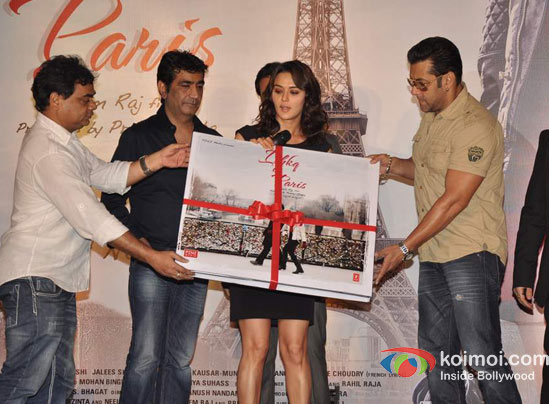 Kishan Kumar, Rhehan Malliek, Preity Zinta, Salman Khan At Ishkq In Paris Music Launch